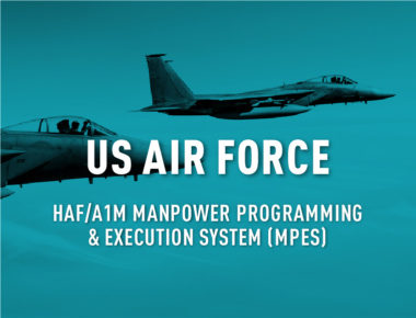 HAF/A1M Manpower Programming and Execution System (MPES) Development and Sustainment