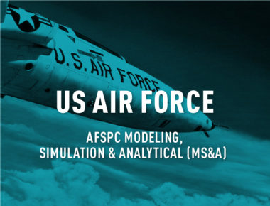 AFSPC Modeling, Simulation and Analytical (MS&A) Support