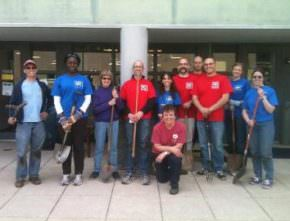 Segue Participates in Volunteer Arlington Day 2012