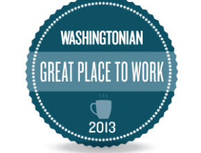 Washingtonian Magazine – Great Places to Work 2013