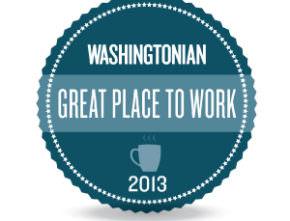 Washingtonian Magazine – Great Places to Work 2013