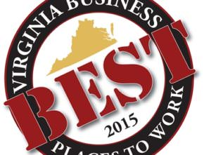 Segue Named One of the Best Places to Work in Virginia in 2015