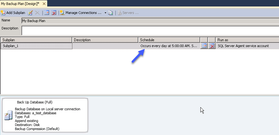 How to create and Back up a SQL Server database Part 2 image 10