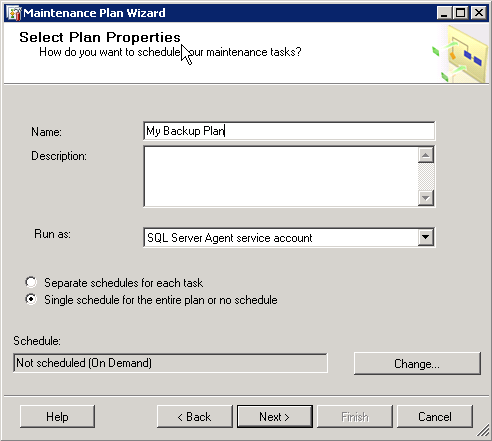 How to create and Back up a SQL Server database Part 2 image 2