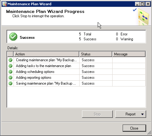 How to create and Back up a SQL Server database Part 2 image 6