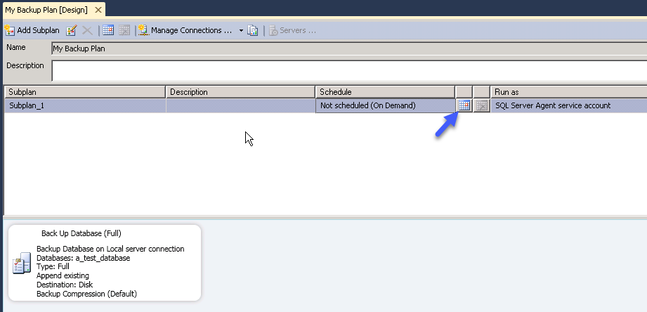How to create and Back up a SQL Server database Part 2 image 8