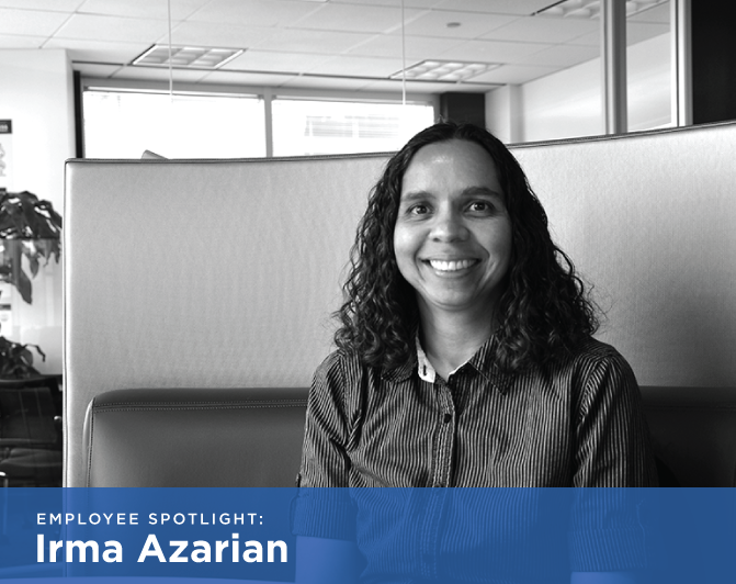 Segue Employee Spotlight: Irma Azarian