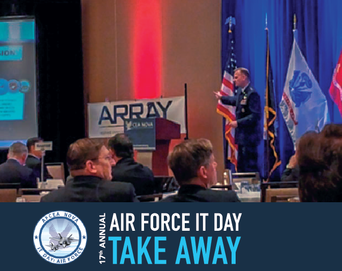 17th Annual Air Force IT Day Take Away