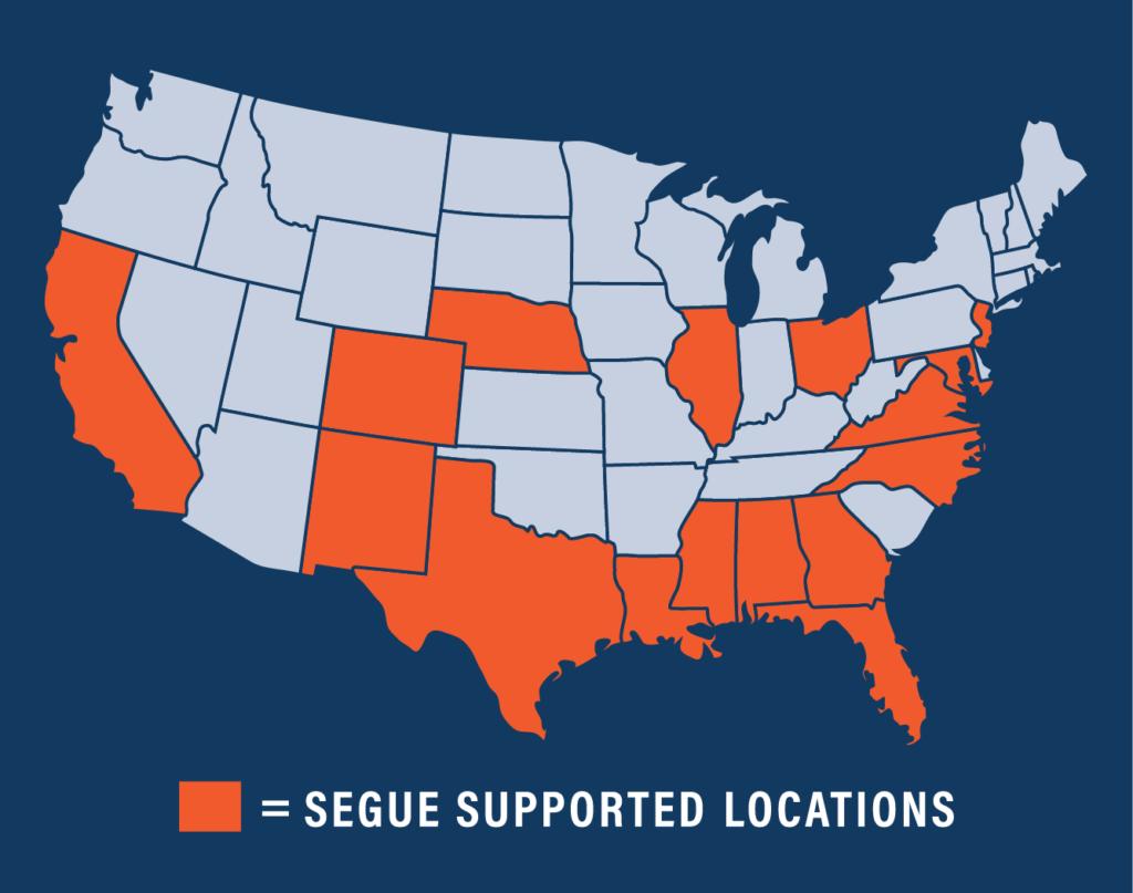 Segue Locations
