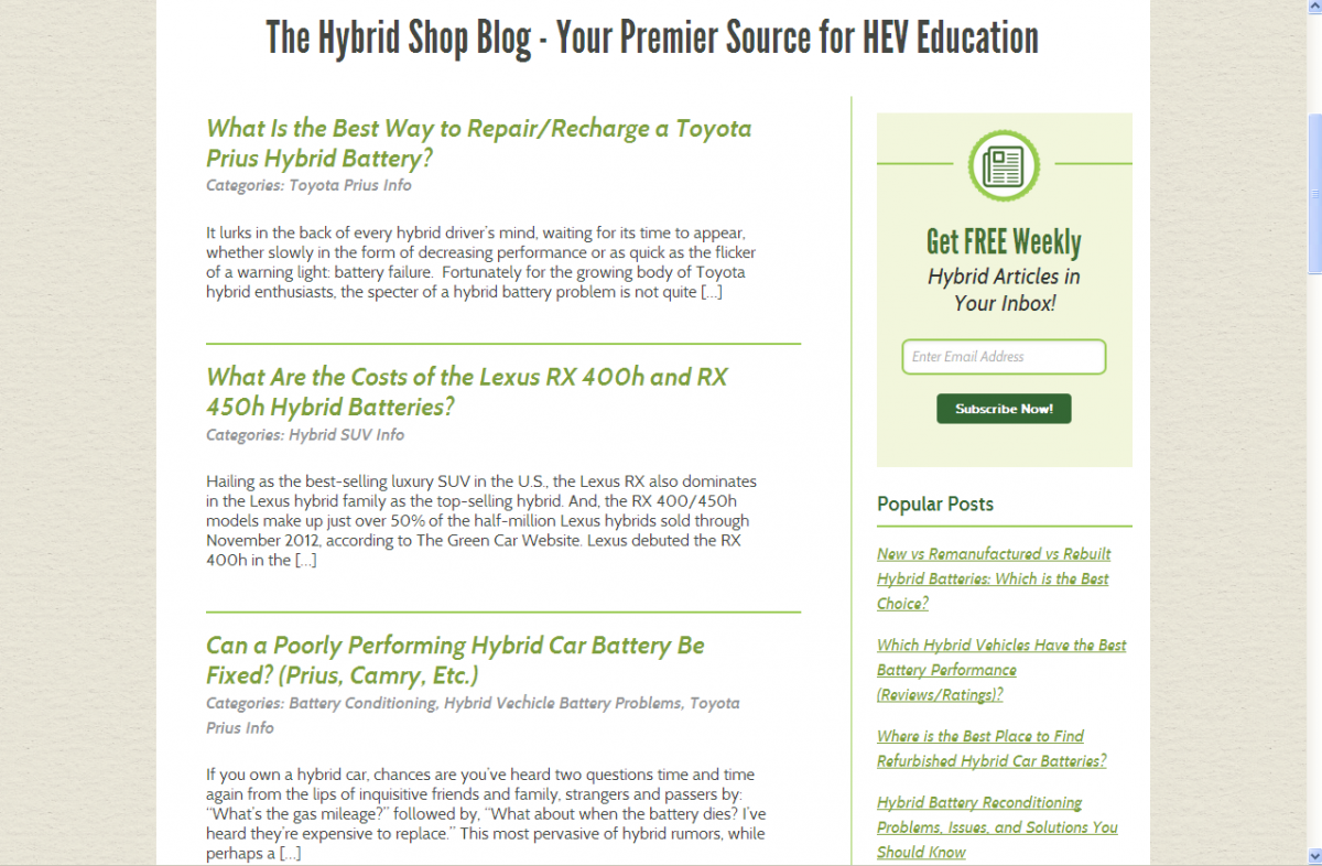 Figure 3.2 Primary Sidebar Layout